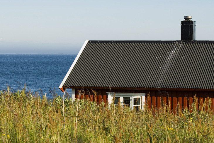 dom z widokiem na morze
