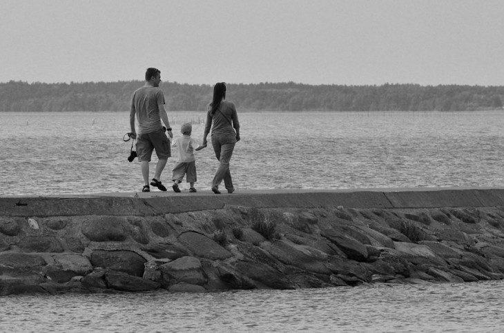 ...wyjście w morze...